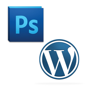 WordPress and Photoshop